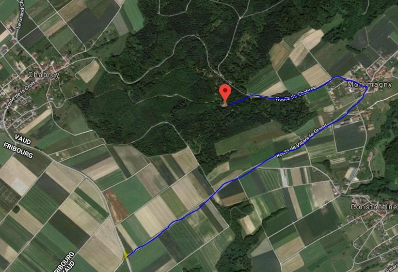 Chabrey - Refuge de Charmontel